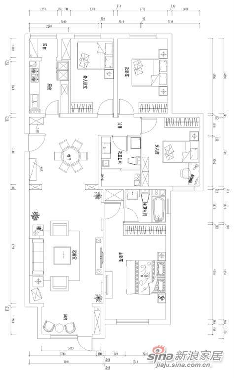 天天家园150平米复式-3