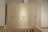 包柱整体衣柜定制 进口PP覆膜6门衣柜
