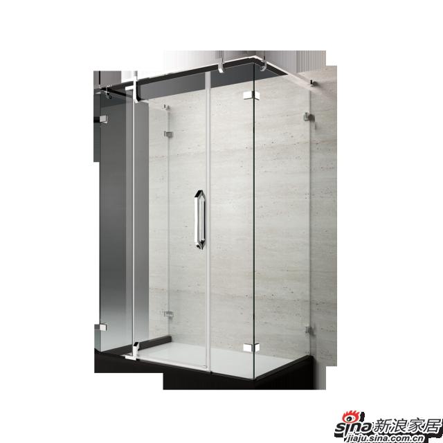 恒洁卫浴淋浴房HLG04U51