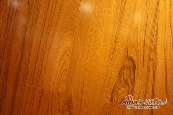 北美枫情二代柚木实木复合地板-0
