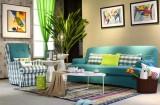 古卓家居客厅软装系列产品