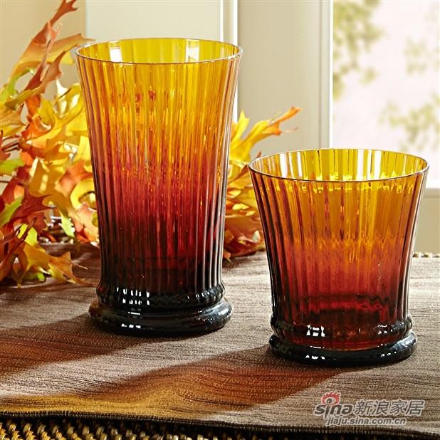 Casa 竖条纹玻璃杯-1