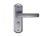 雅洁AS2051-F1728B-P1冲压不锈钢锁+镜光