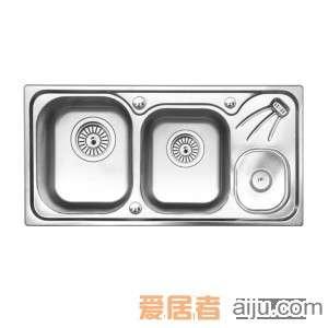GORLDE优质不锈钢水槽/洗菜池 环保星系列HBS-3#(大小盆)2