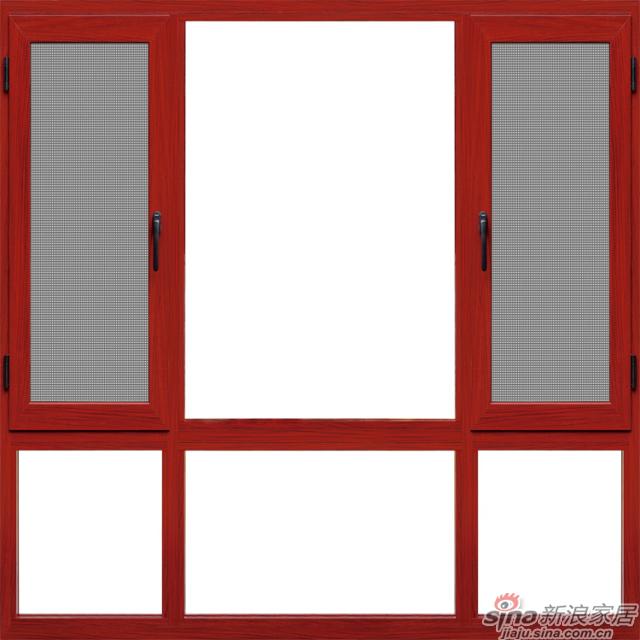 90瑞格尔非断桥平开窗軒尼斯门窗
