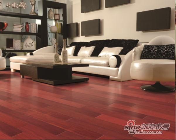 安信实木复合地板-香脂木豆-0
