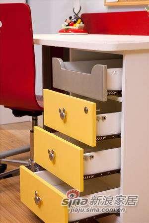 迪士尼儿童彩色家具-顽皮米奇书桌-0