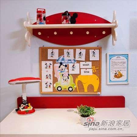 迪士尼儿童彩色家具-顽皮米奇书桌-1