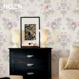 柔然壁纸英国设计水墨花瓣比利时无纺墙纸