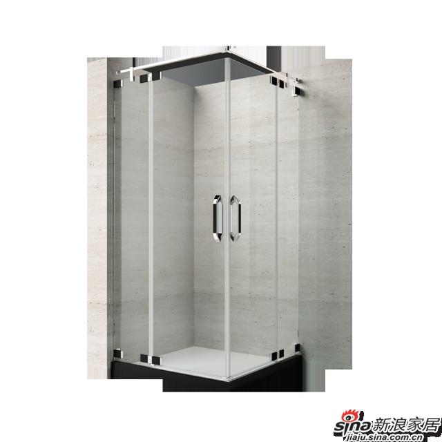 恒洁卫浴淋浴房HLG03F42