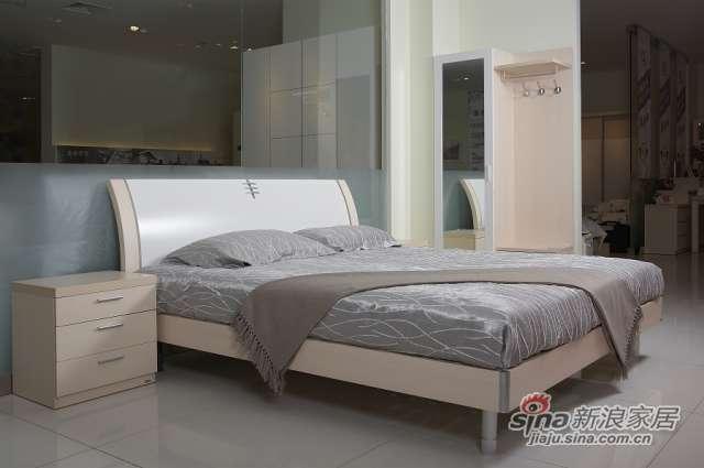 东方百盛-B685双人床-0