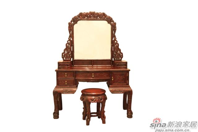 竹节梳妆台