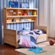 喜梦宝 实木家具韩式实木床1米单人床松木床儿童床