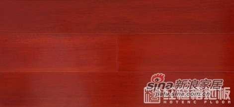 红檀�U地板檀香印象-番龙眼HS-PL40-0