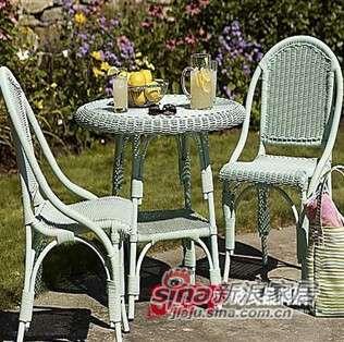 凰家御器藤椅藤家具三件套休闲椅阳台椅NH-A002-0