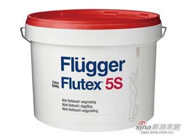 福乐阁Flutex 5S皇家本色墙面漆-0
