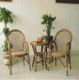 凰家御器月明组合藤椅藤家具三件套休闲椅阳台椅NH-A024