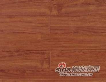 大卫地板中国红-印象红系列强化地板DW1301香格里拉风情-0