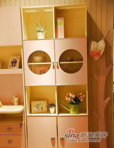 我爱我家儿童家具三门书柜FH01-A+B