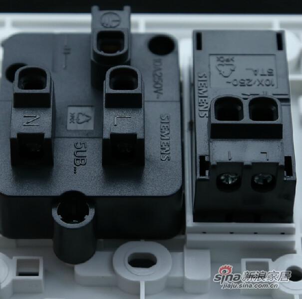 西门子一开五孔插座面板-2