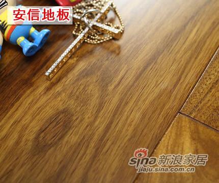 安信地板 非洲花梨100%全实木地板