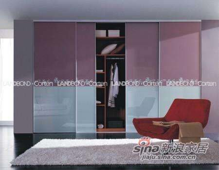 联邦高登烤漆玻璃移门衣柜――SG803-0