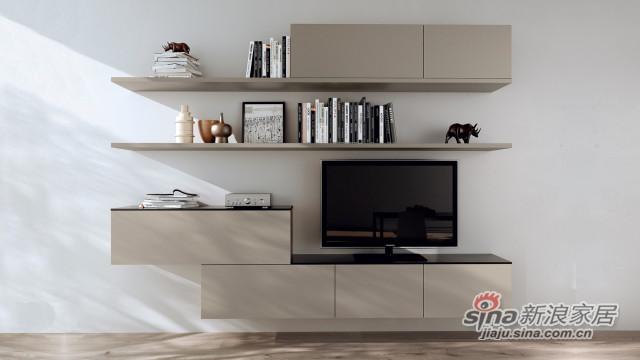 有趣造型电视搁板柜 可陈列可储物-0