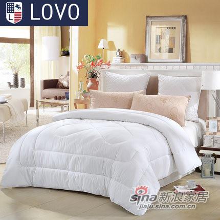 lovo罗莱家纺出品床上用品双人单人被子