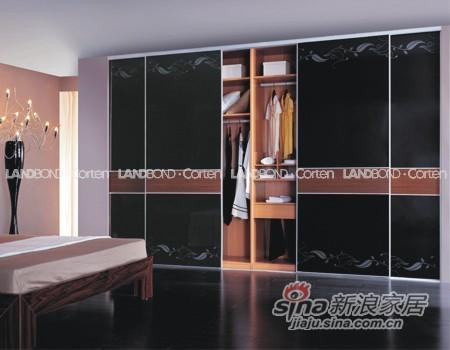 联邦高登烤漆玻璃移门――绅士黑-0