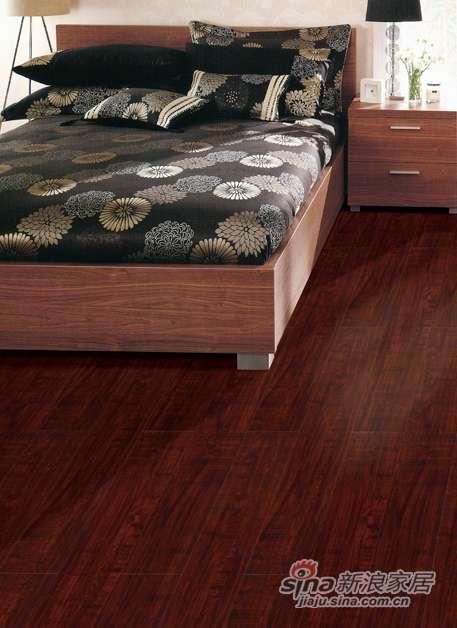 欧典地板梦幻居系列巴西红木