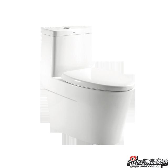 恒洁卫浴坐便器H0136