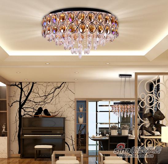 钜豪餐厅客厅吸顶灯D-5044 10头