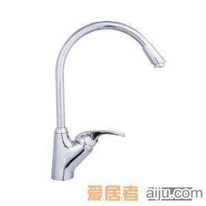 GORLDE单把单孔厨房水槽/洗菜池龙头XDD/305FYJ1