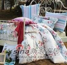 紫罗兰家纺床上用品高档天丝四件套凡尔赛花园VPEY013-4-0