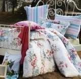 紫罗兰家纺床上用品高档天丝四件套凡尔赛花园VPEY013-4