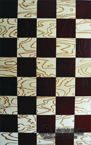 【永吉地板】实木复合炫彩魔方系列——铁力士雪山