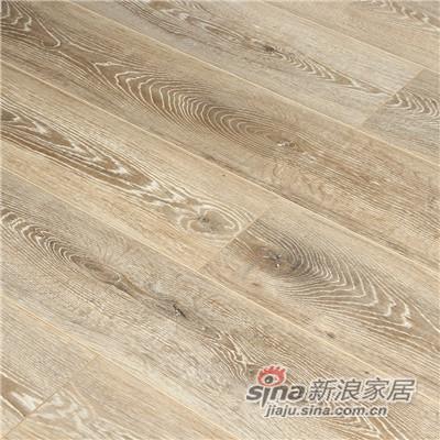德合家ROOMS 强化地板R1214拉丝泰坦橡木-1
