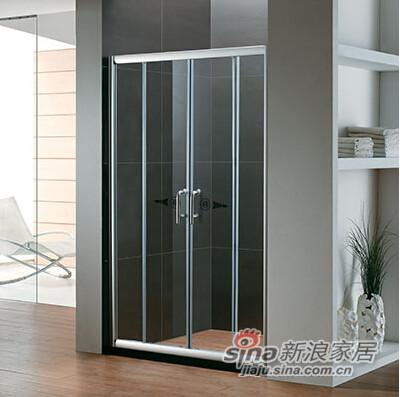 淋浴房有框推拉系列-L0208