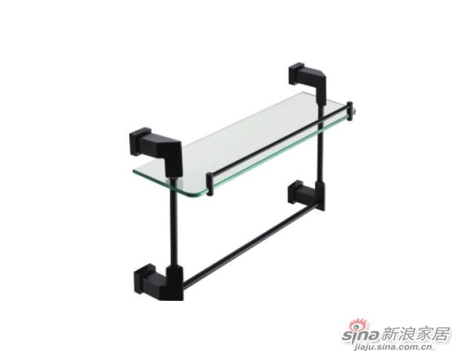 SM3210K双层玻璃置物架
