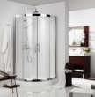 德立洁具圆弧型淋浴房