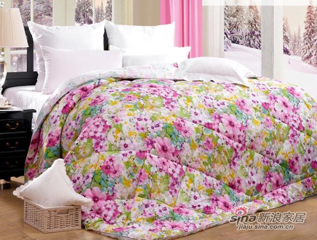 富安娜家纺被子被芯冬季保暖冬被加厚床上用品