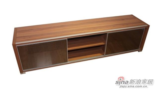 迈格家具 电视柜 JH122 胡桃木