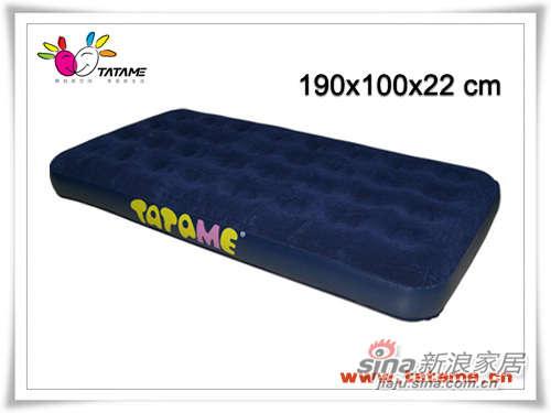 TATAME充气床系列 单人单面植绒充气床 QP01007-0
