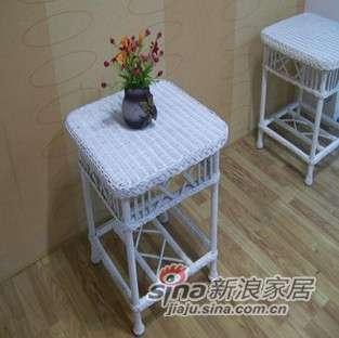 凰家御器藤茶几角几客厅沙发茶几藤椅藤家具CY-062-0