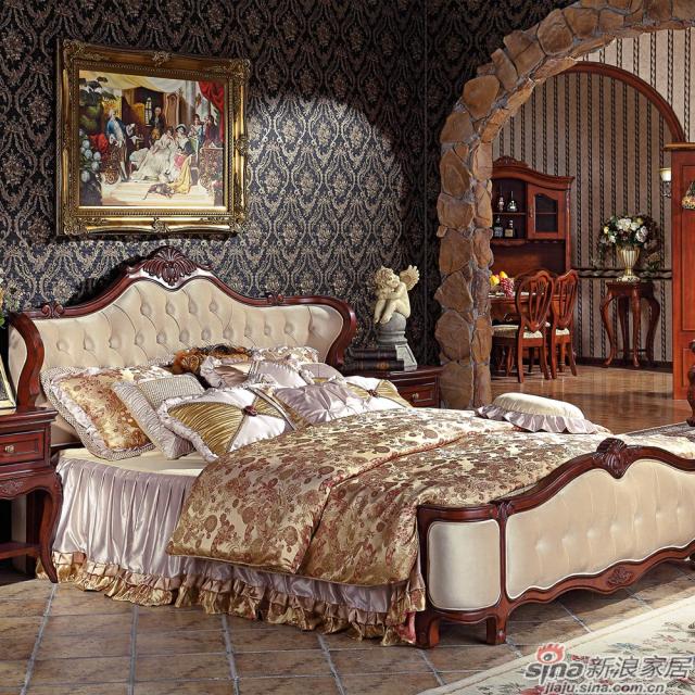 巴克庄园BK8006皇后床
