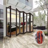奥松系列-重型断桥折叠门�尼斯门窗