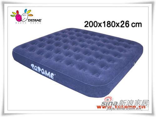 TATAME充气床系列 特大双人五面植绒充气床 QP01005-0