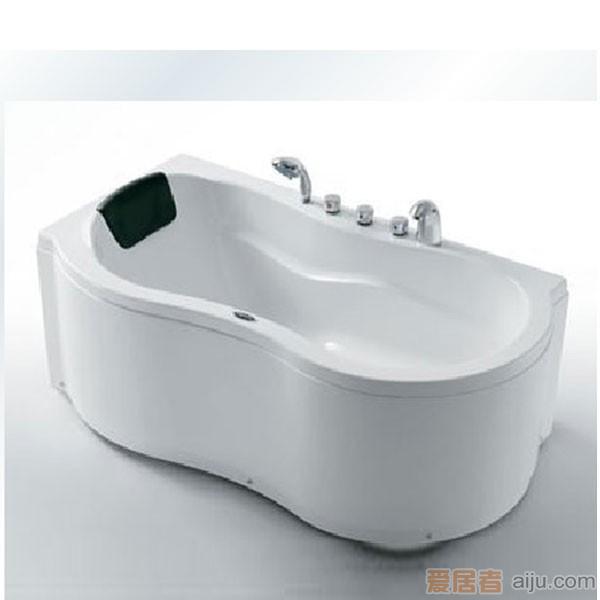 法恩莎压克力浴缸(五件套)F1502Q(1500*800*600mm)1