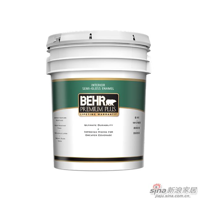 百色熊超级室内半光涂料 5加仑