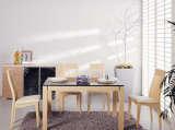 富之岛白榉系列餐柜12V254